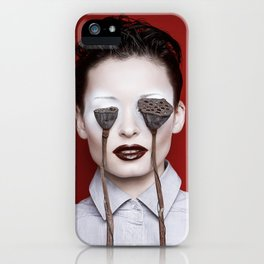 Lotus nervus iPhone Case