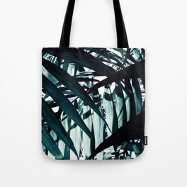 Inside of Palm Trees Tote Bag