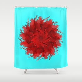 Flower-blown carnations. Memory Colors, school, cottages Shower Curtain