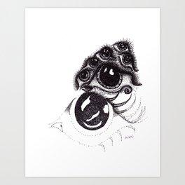 eye on waterloo Art Print