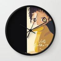 mini Wall Clocks featuring Mini by Vale Bathory