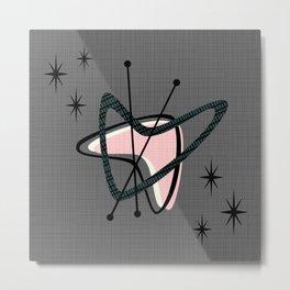 Atomic Boomerangs & Starbursts Metal Print