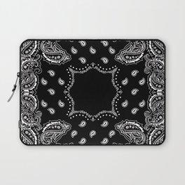 Bandana Black & White Laptop Sleeve