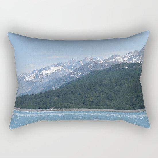Alaskan Mountainview Rectangular Pillow