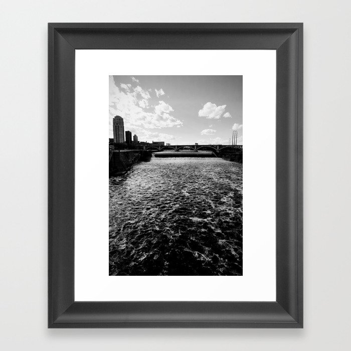 Mississippi, Minneapolis Framed Art Print