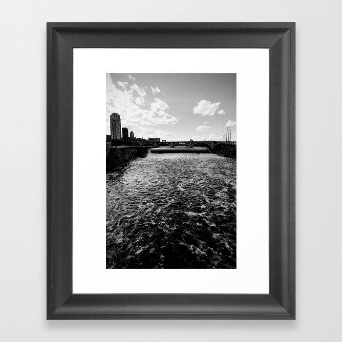 Mississippi, Minneapolis Framed Art Print