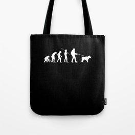 Dog Walker Evolution T-Shirt Gift Tote Bag