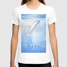 Nada - White Humpback Whale T-shirt