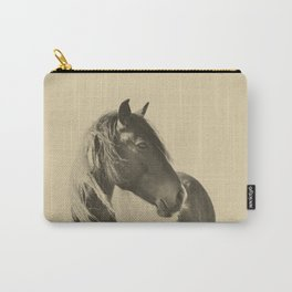 Stallion in Sepia Carry-All Pouch