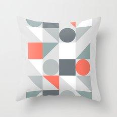 Mid Century Modern Geometric 02 Throw Pillow