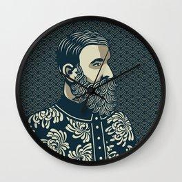 BEARDED PHILOSOPHER Wall Clock