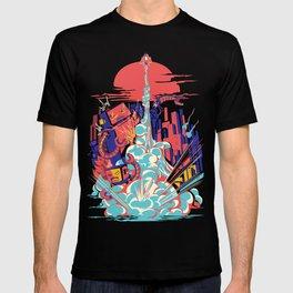 Smash! Zap!! Zooom!! - Generic Spacecraft T-shirt