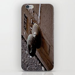 Knock, Knock iPhone Skin