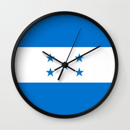 Flag: Honduras Wall Clock