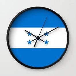 Flag: Honduras Wall Clock
