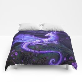 moonlight dragon Comforters
