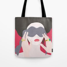 Eyes, blindfold Tote Bag