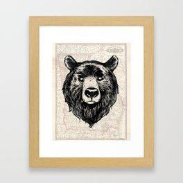 GA bear Framed Art Print