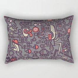 Smoove Cyborg Saturday Night Rectangular Pillow