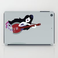 marceline iPad Cases featuring Marceline Rocking Out | Adventure Time by Aaron Bowersock