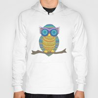 henna Hoodies featuring Henna Owl by haleyivers