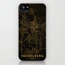 Heidelberg, Germany - Gold iPhone Case
