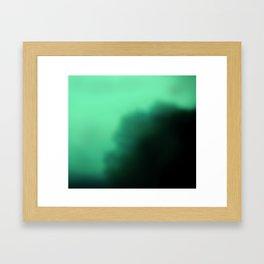 Dark tree Framed Art Print