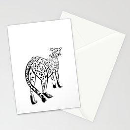 Сheetah Stationery Cards