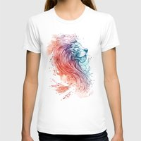 sea T-shirts featuring Sea Lion by Steven Toang