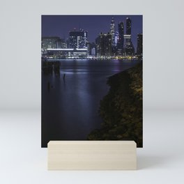 Midtown Manhattan skyline Mini Art Print