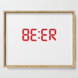 Beer o clock Serving Tray