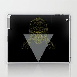 polygon head Laptop & iPad Skin