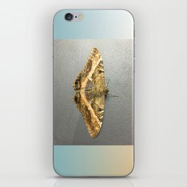 Black Witch Moth iPhone Skin