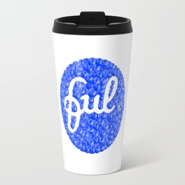 ful • Fruitful & Universal Labels • Food Iconography Travel Mug