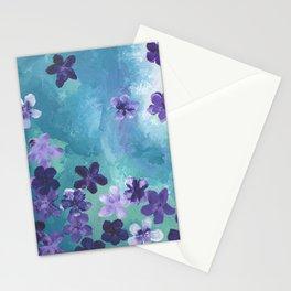 Violets 2 Stationery Cards