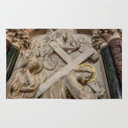 Cross of Calvary Rug