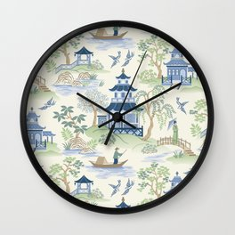 Chinoiserie Wall Clock