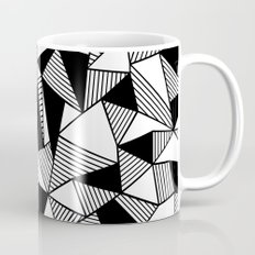 Ab Lines with Black Blocks Mug