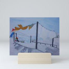 Freeze Dry Laundry Mini Art Print
