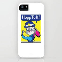 Hopp To It! iPhone Case