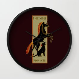 Free Spirit, Kind Soul Wall Clock