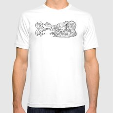 East Wind Blow! Mens Fitted Tee White MEDIUM