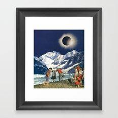 Cosmic Vibrations Framed Art Print
