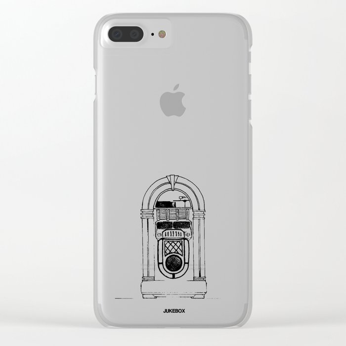 Jukebox Clear iPhone Case