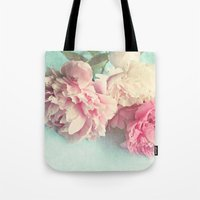 agnes Tote Bags featuring like yesterday by Sylvia Cook Photography