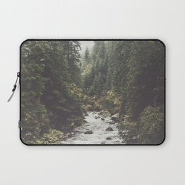 Mountain creek - Landscape and Nature Photography Laptop Sleeve