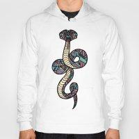 anaconda Hoodies featuring Anaconda by schillustration
