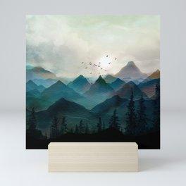 Mountain Sunrise II Mini Art Print