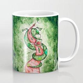 The Dragon and The Tower Coffee Mug