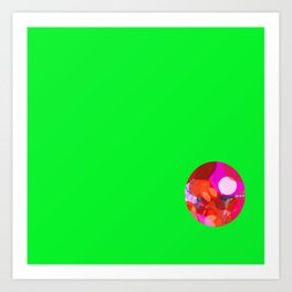 SexyPlexi dots ball Art Print
